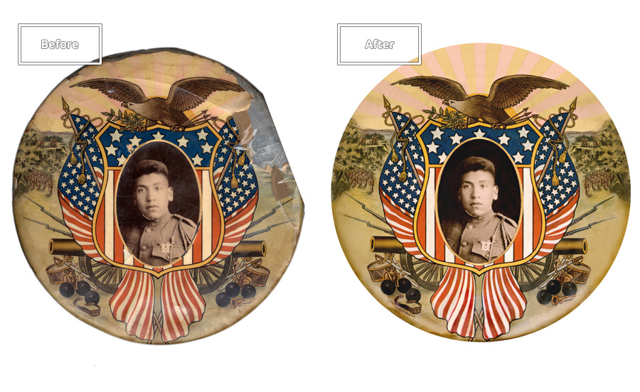 Better Than New -  We can restore images as good as new, and sometimes even correcting past mistakes!