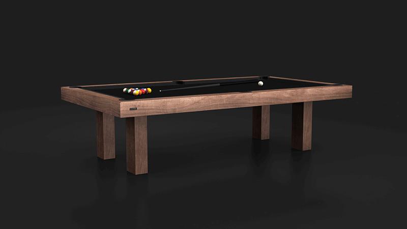 Malibu Walnut Billiards Table
