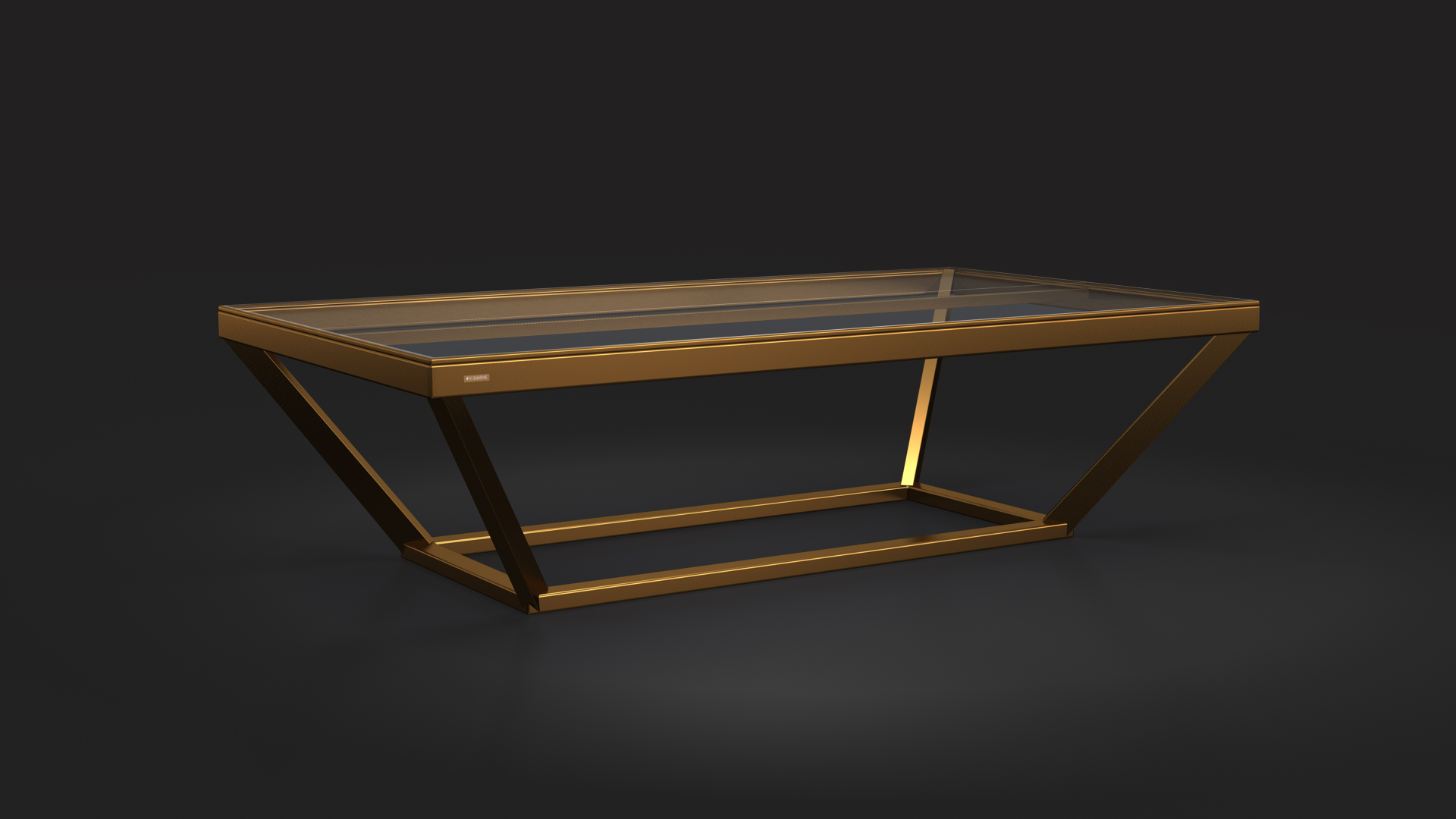 Copy of Vitro Table Tennis Table in Bronze