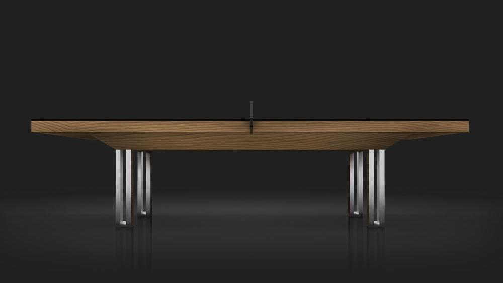 Executive Table Tennis Table in Teak