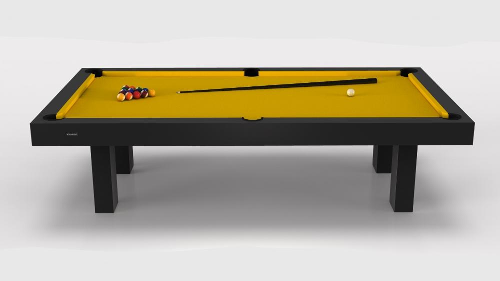 Outdoor Malibu Billiards Table in Grey