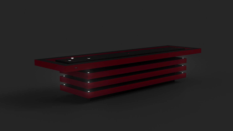 Arclight by 11Ravens - custom shuffleboard table
