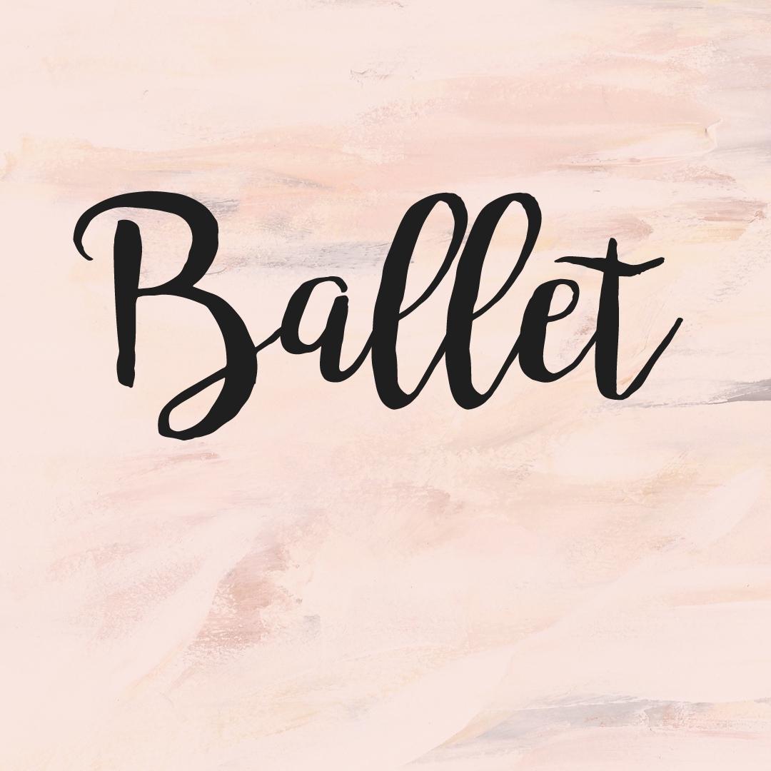 Ballet Levels 1-5