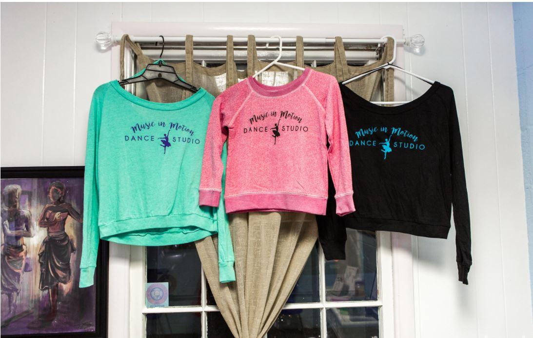 Dance Studio Virginia Beach Logo Sweatshirts and Products