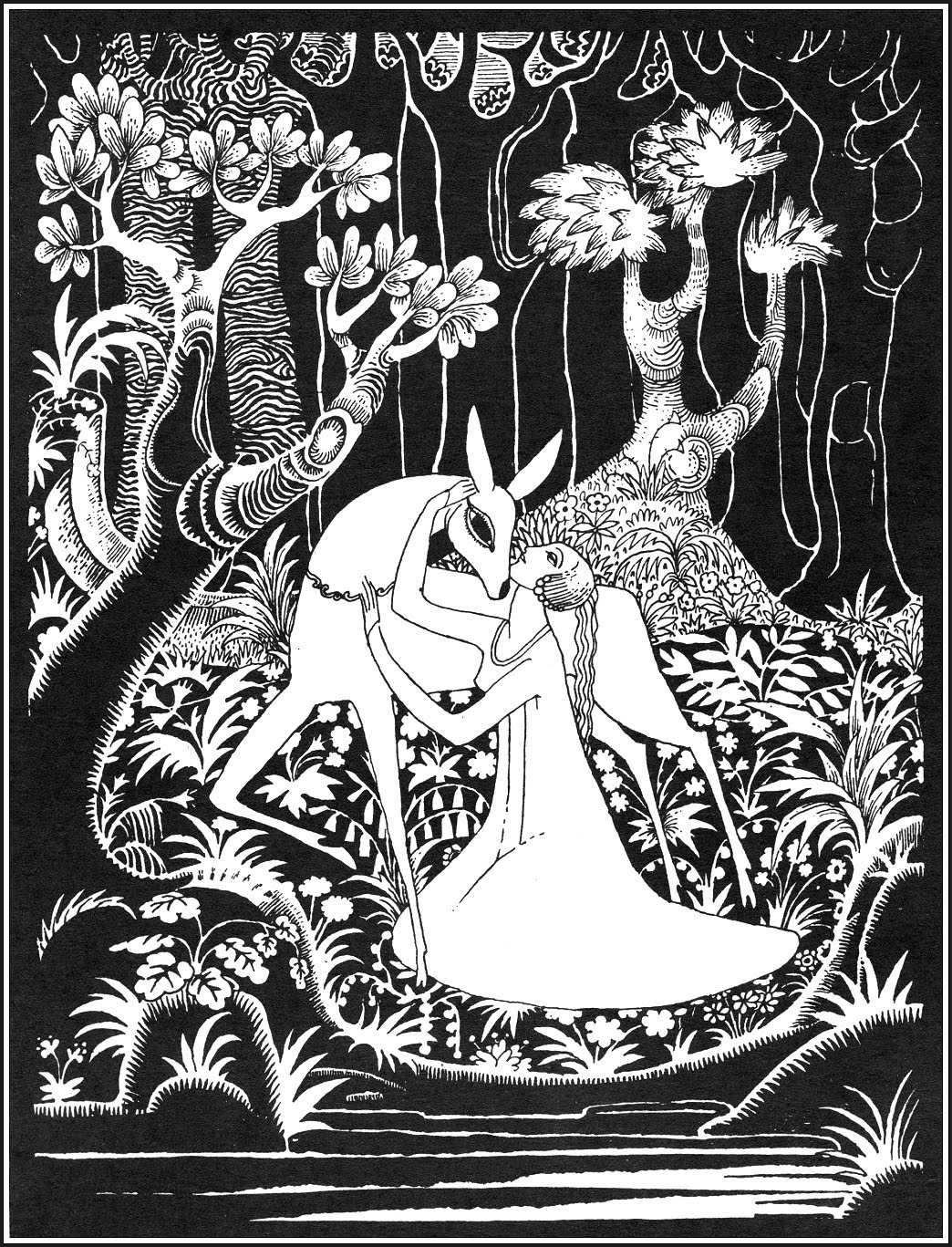 Gretel, the Brothers Grimm |  Kay Nielsen