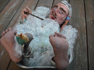 The harsh dream of the retired fisherman