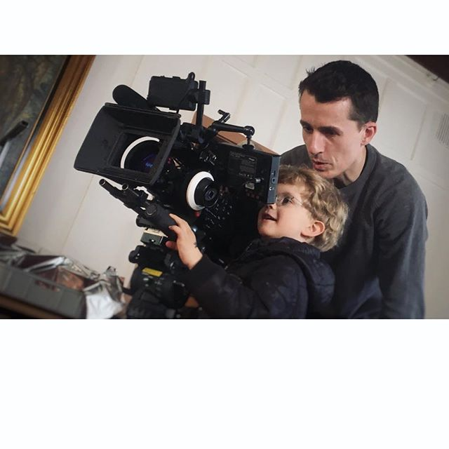 Cinematographer in the making #cinematography #startyoung #børnearbejde #kun3år #medpåarbejde