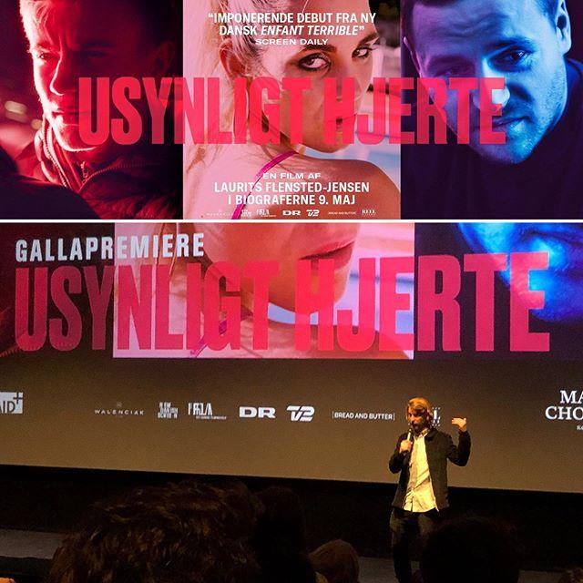 Så fik vores film endelig dansk premiere! 🤘USYNLIGT HJERTE #gallapremiere #spillefilm