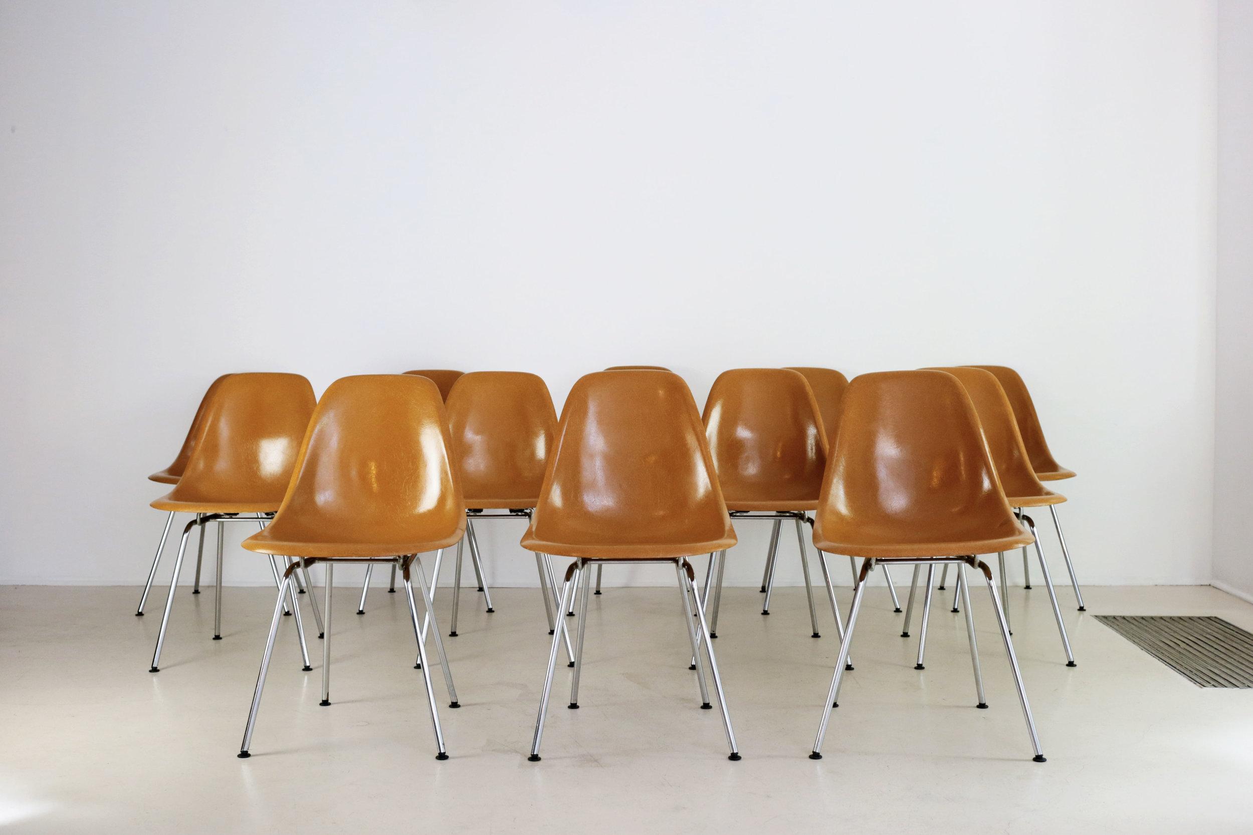 Charles & Ray Eames |Chaises DSX (qté 6)