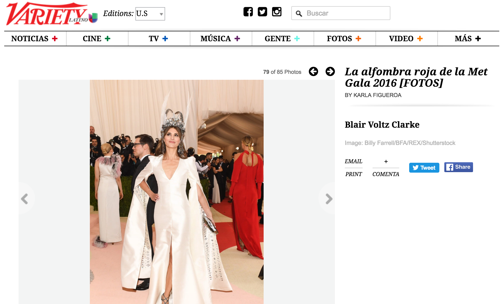 Met Gala 2016 - Variety Latino screenshot.png