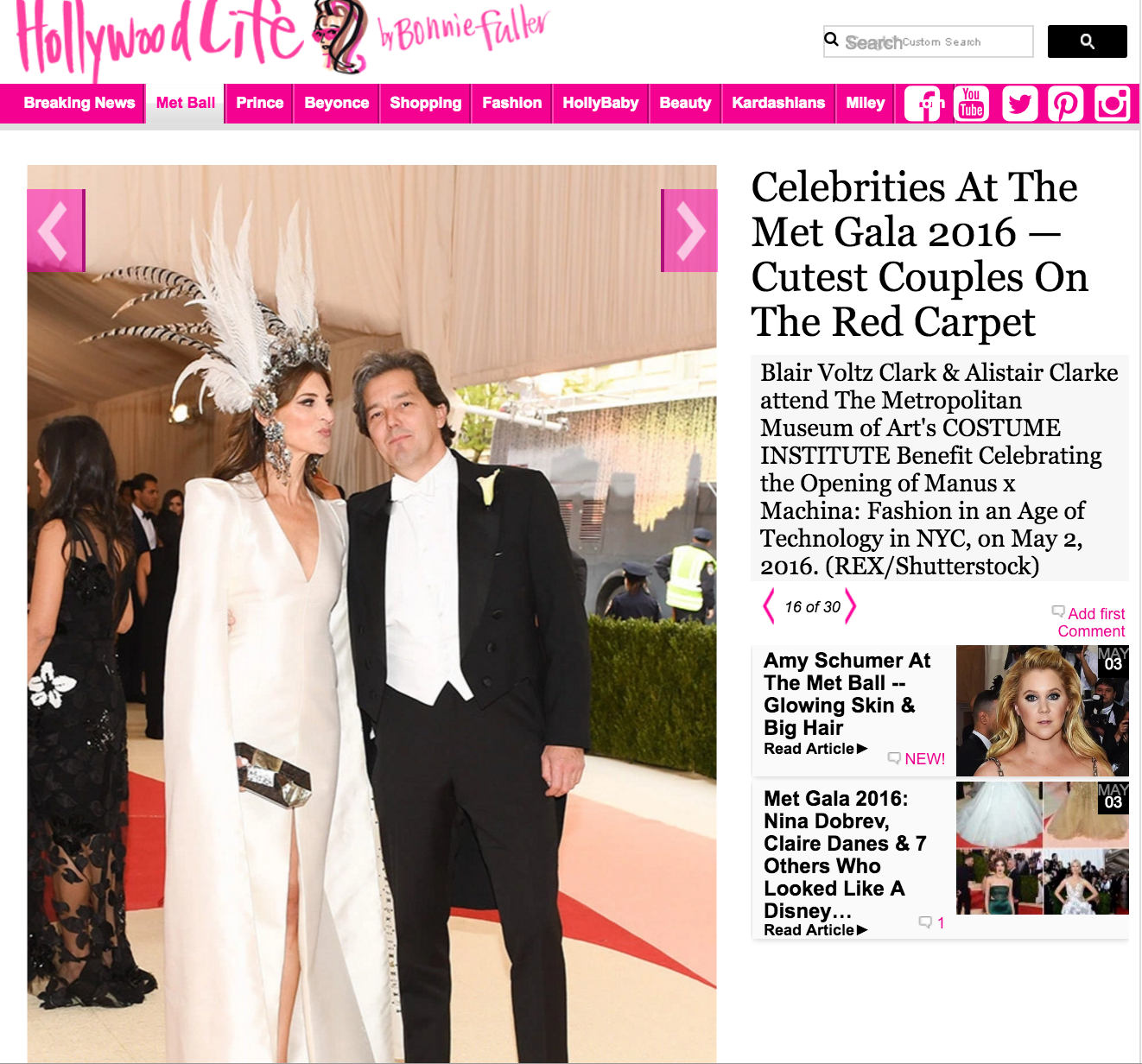 Met Gala 2016 - Hollywood Life screenshot.png