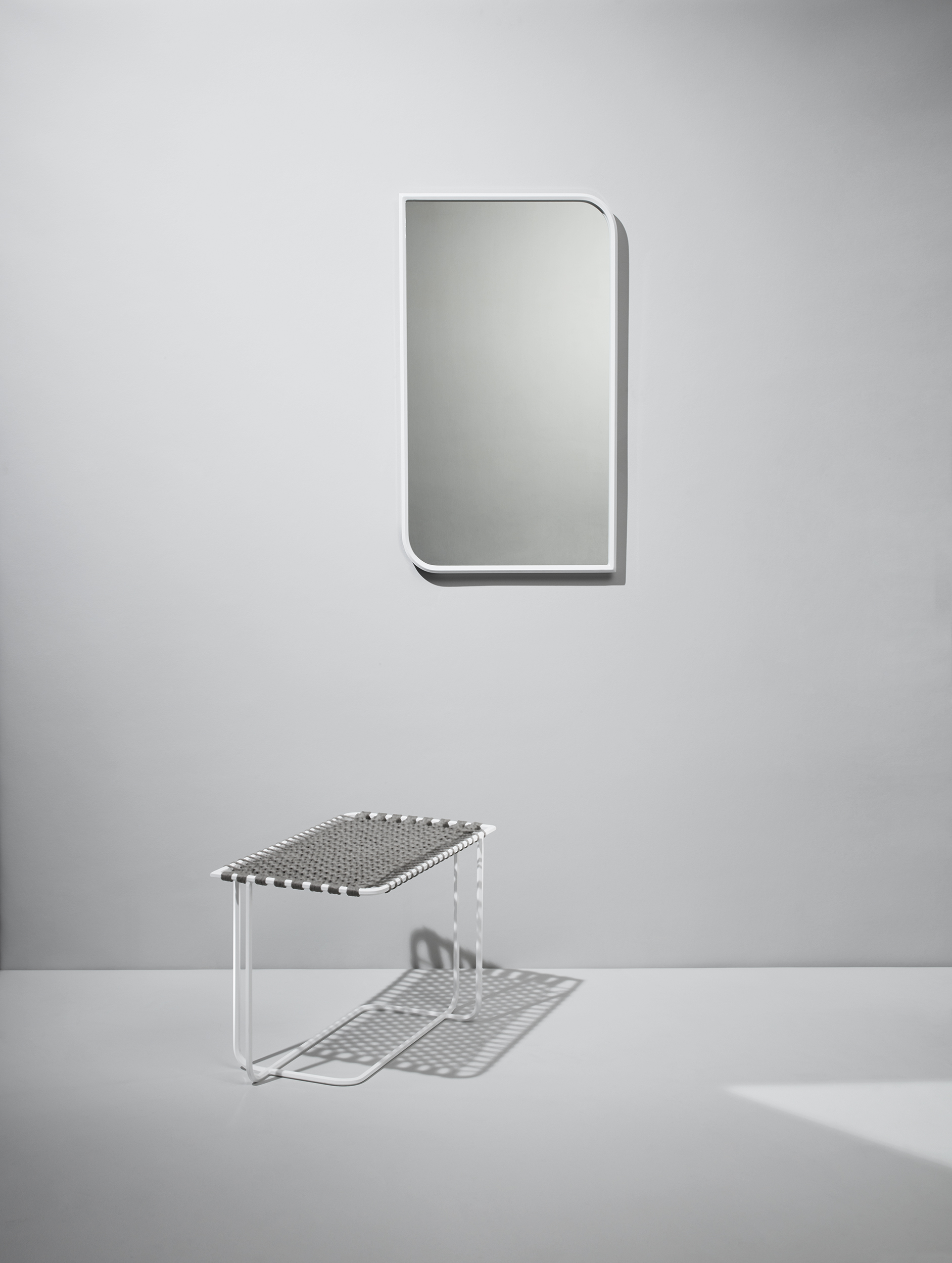 Shown with Double Curve Mirror