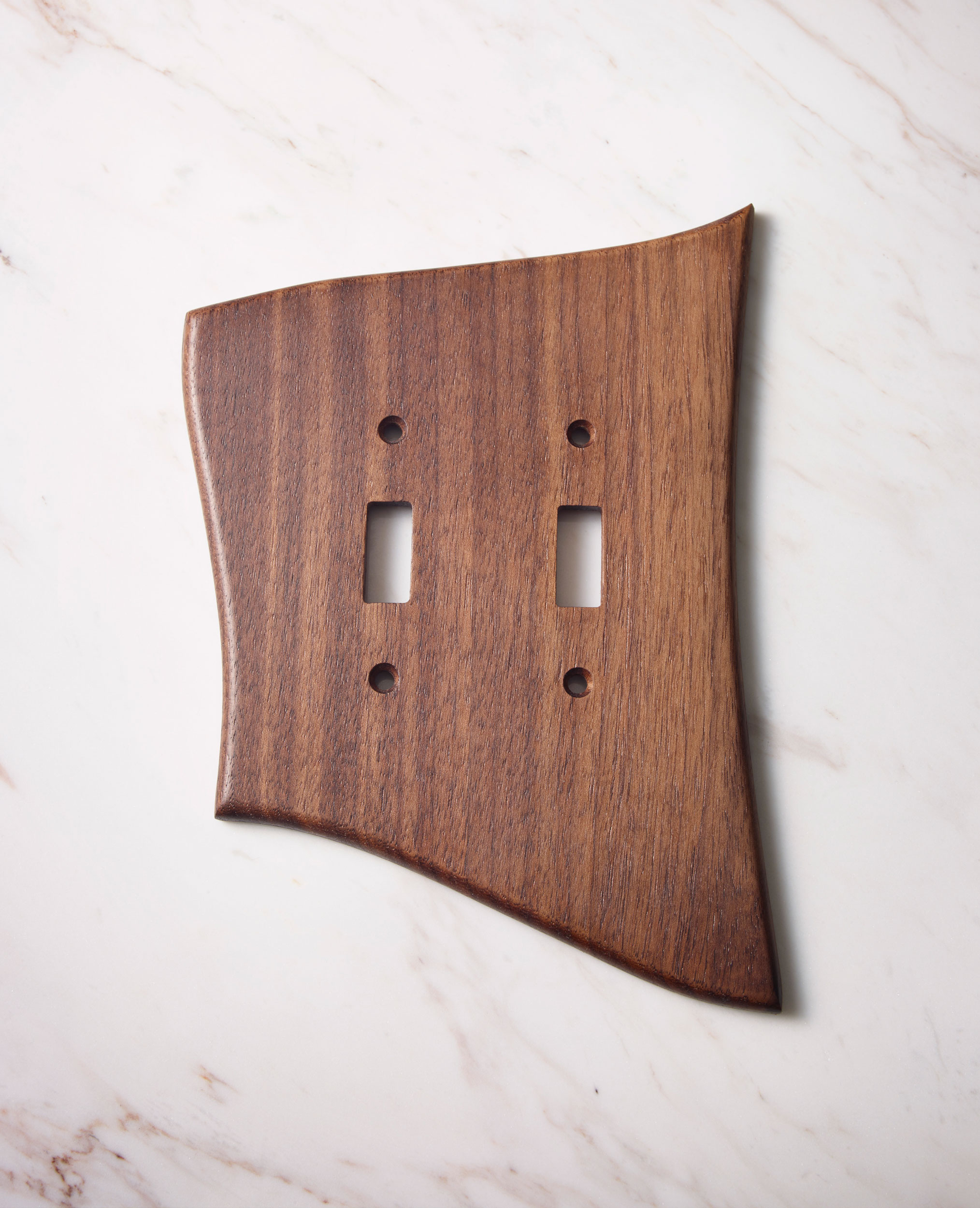 L Double Standard Switch Plate