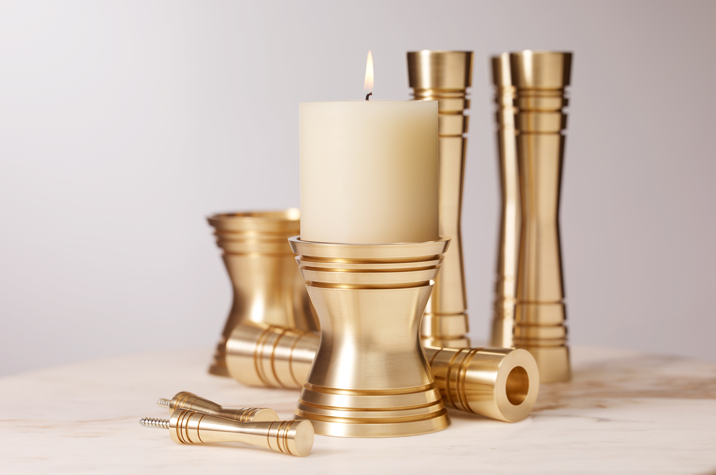 _170106 Post and Gleam table top Candle Holders Family 5 COMP R1 FL LR.jpg