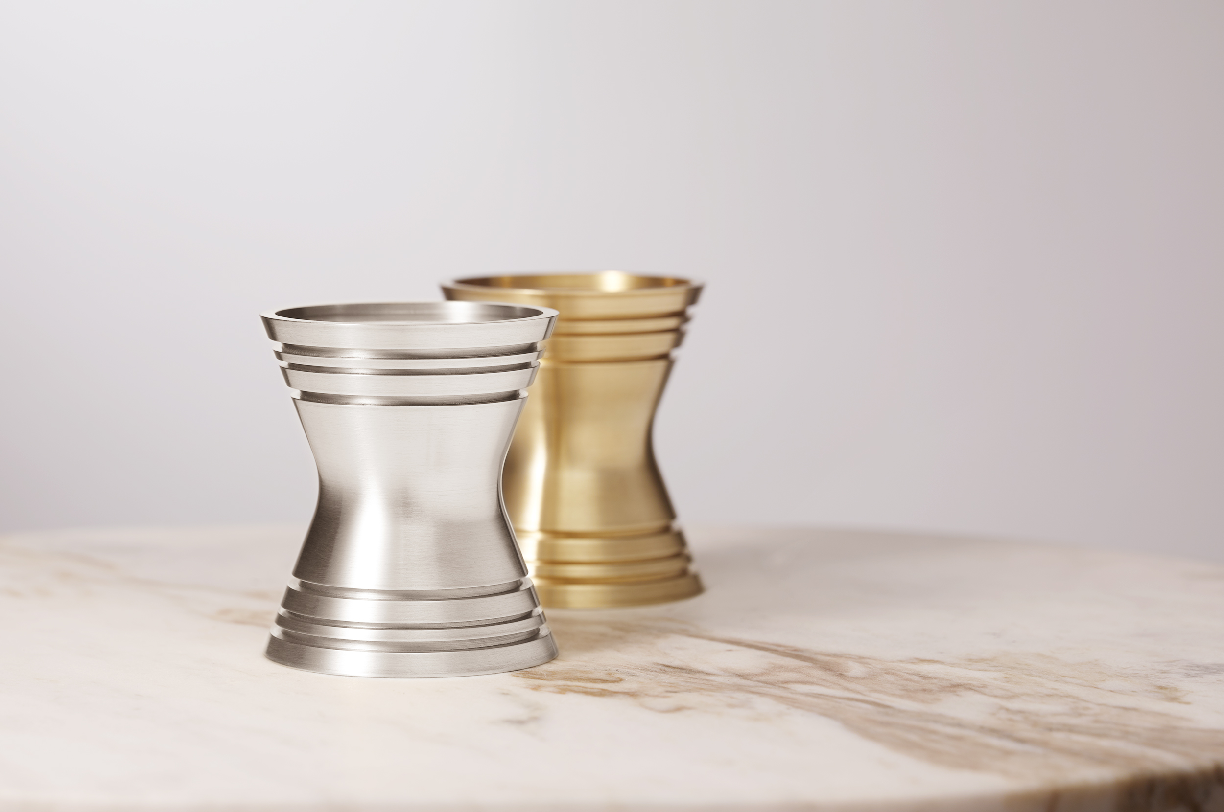 _170106 Post and Gleam table top Candle Holders Short Pair COMP R1 FL LR.jpg