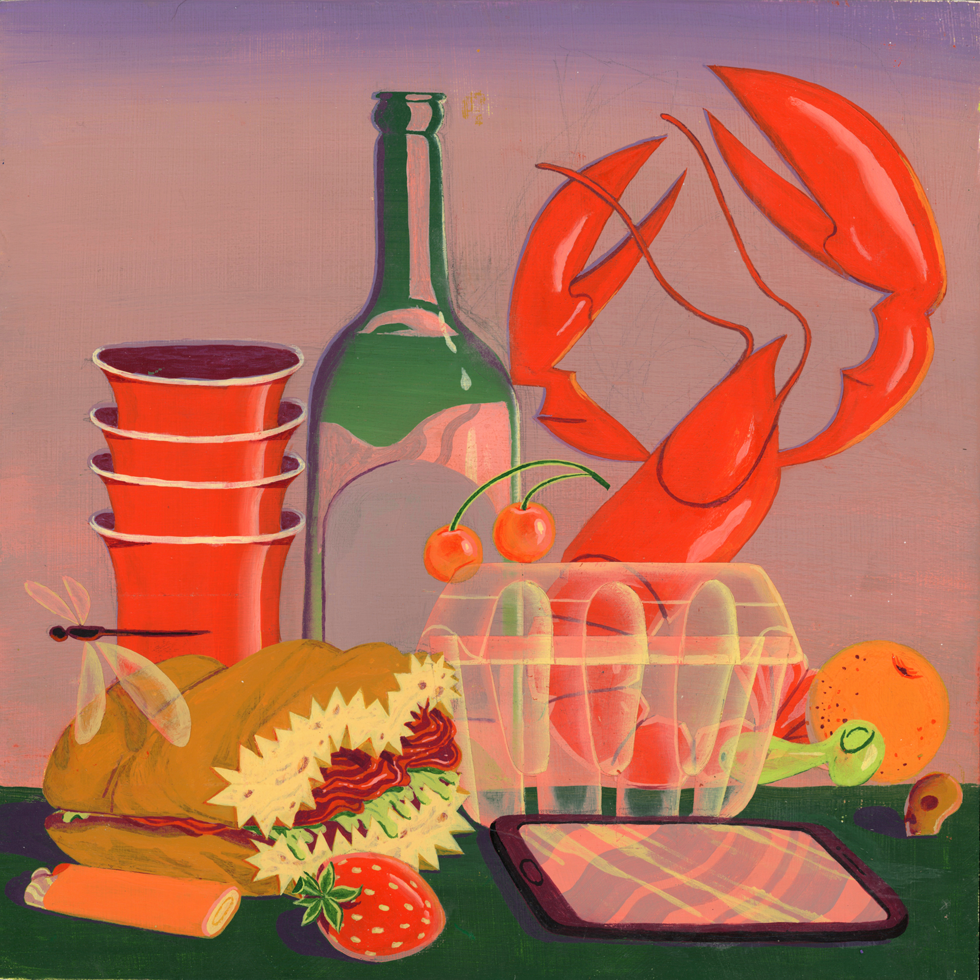 Banquet Piece  from the series  Picnic