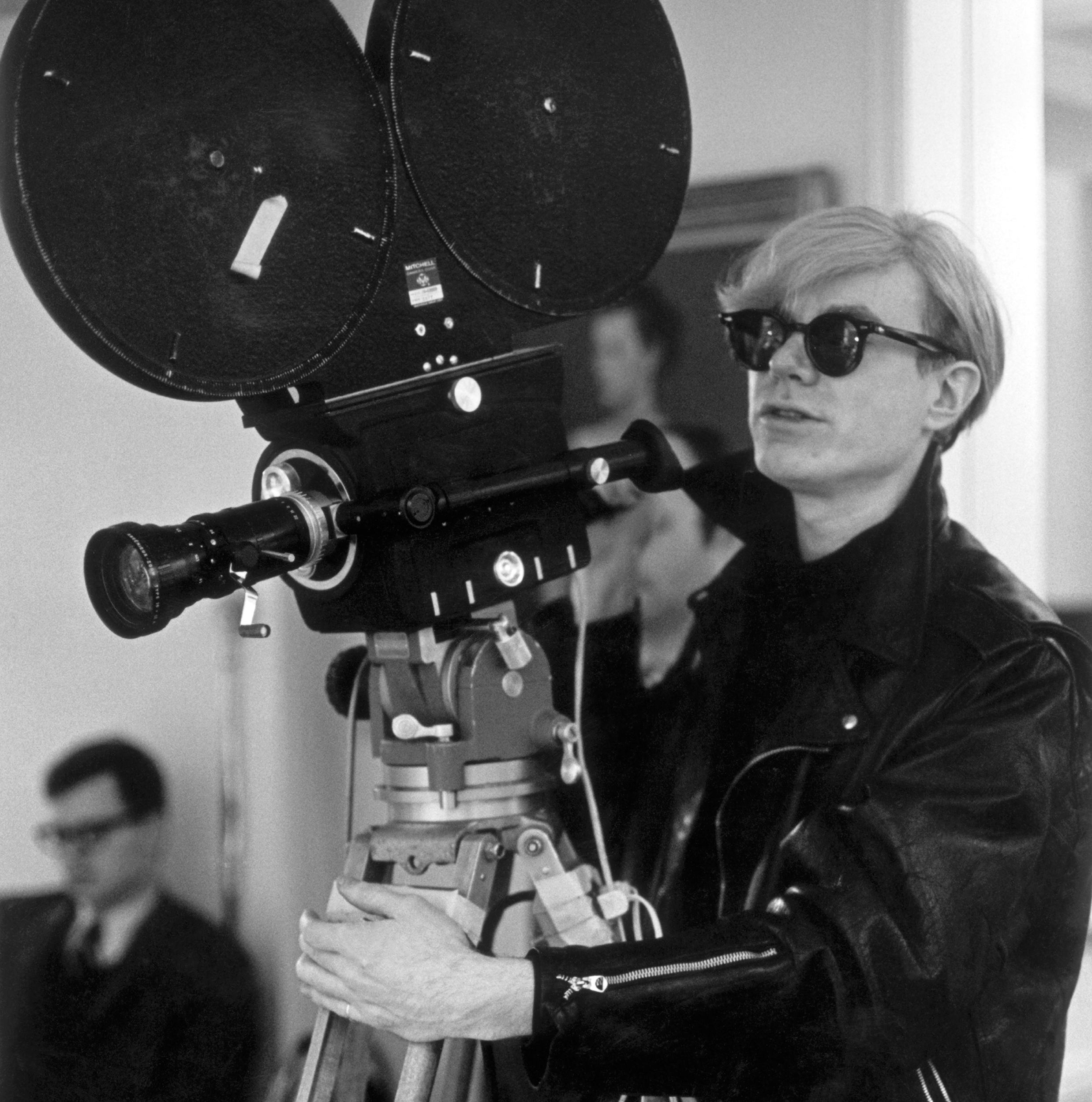 1968 Andy Warhol filming 'Snow White and the Seven Dwarfs'