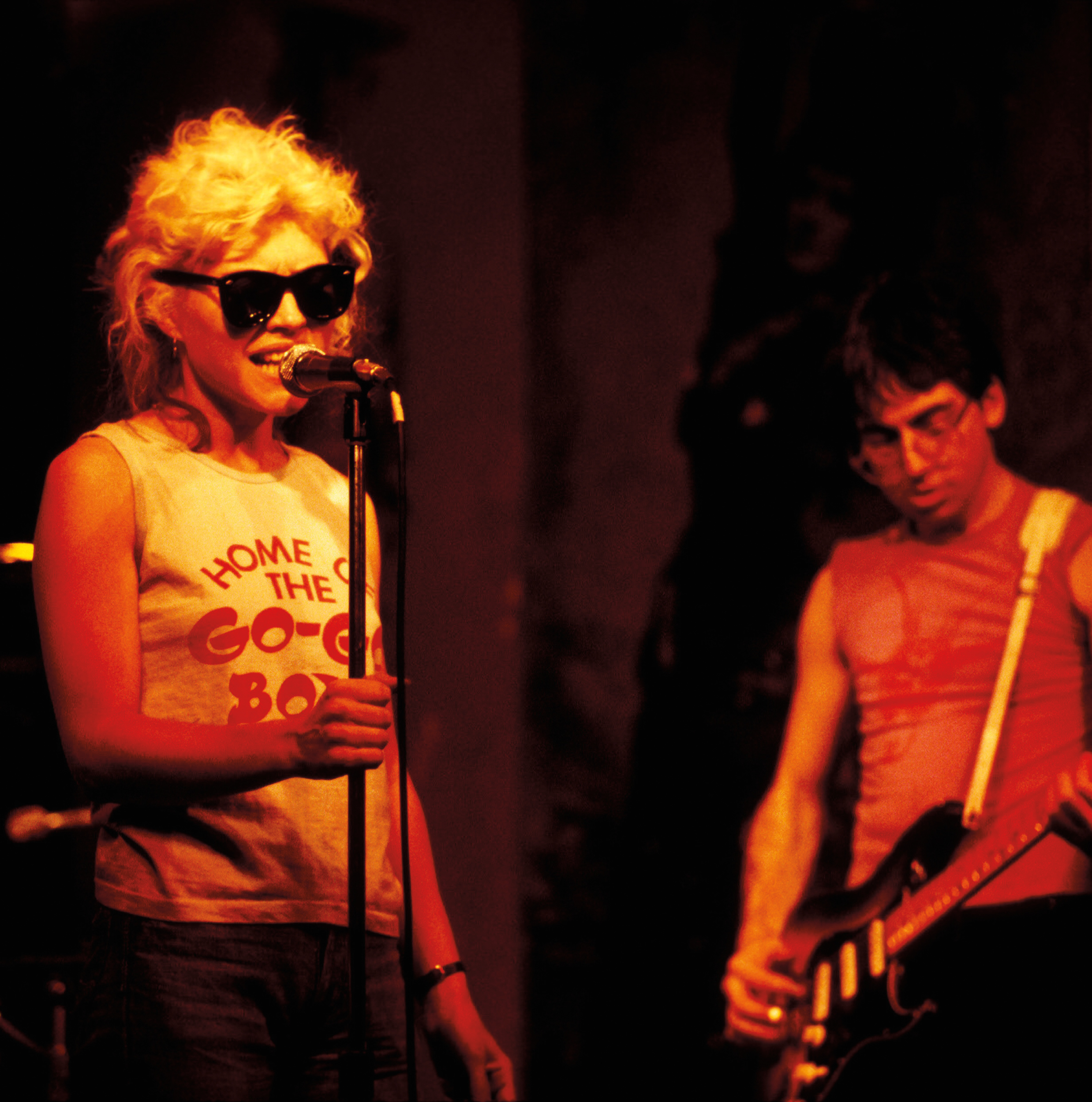 1976 Debbie Harry and Chris Stein