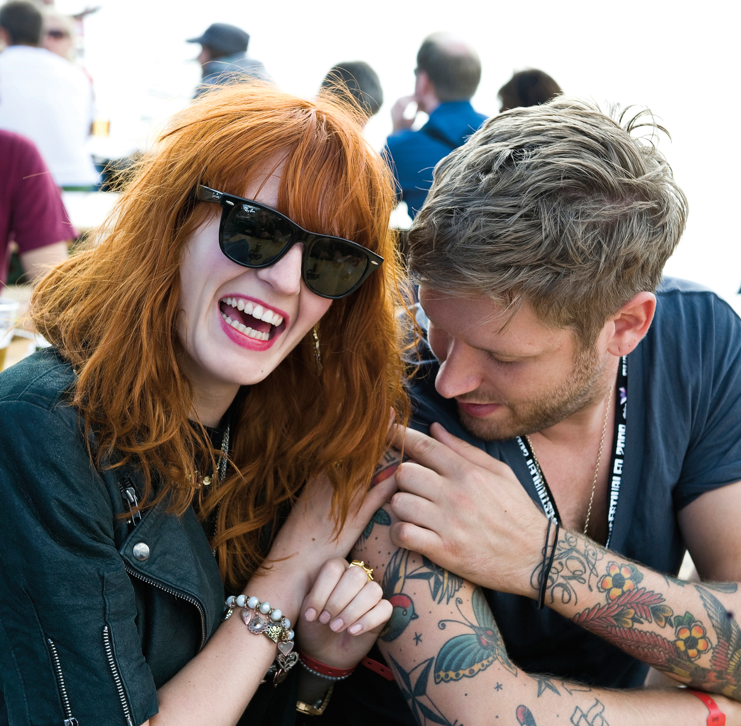 2009 Florence Welch, Florence + The Machine