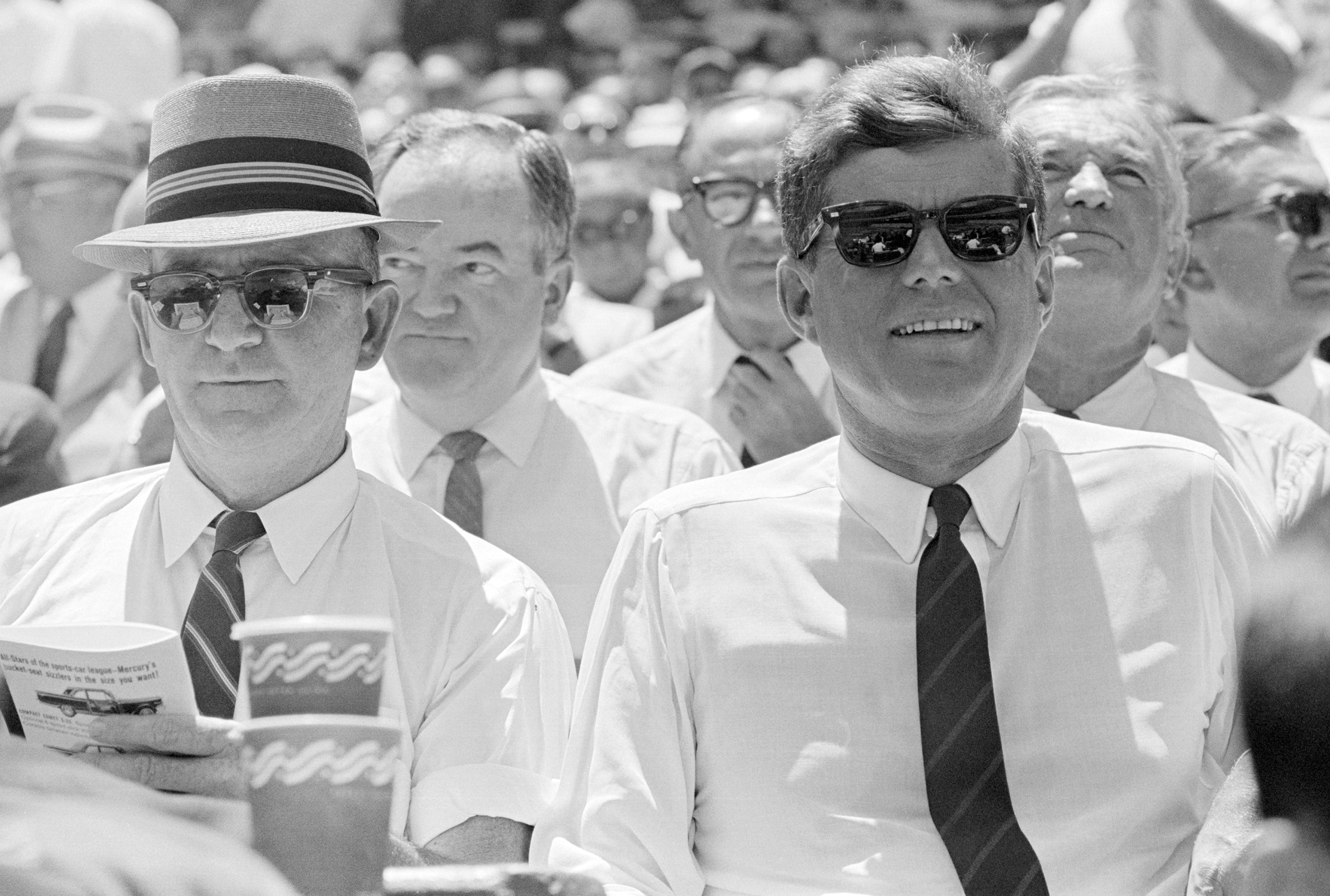1962 John F. Kennedy at the 32nd All Star Game