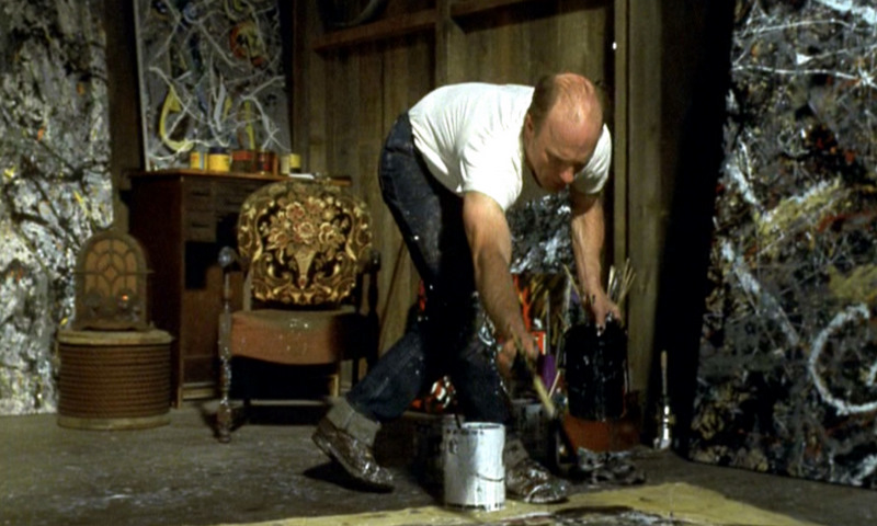 Ed Harris in  Pollock  (2000)