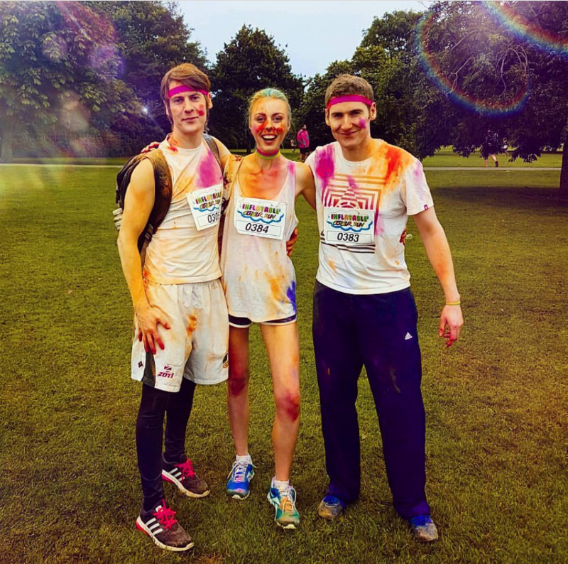 5k Colour Fun Run! Who knew I could even crawl 5k?!