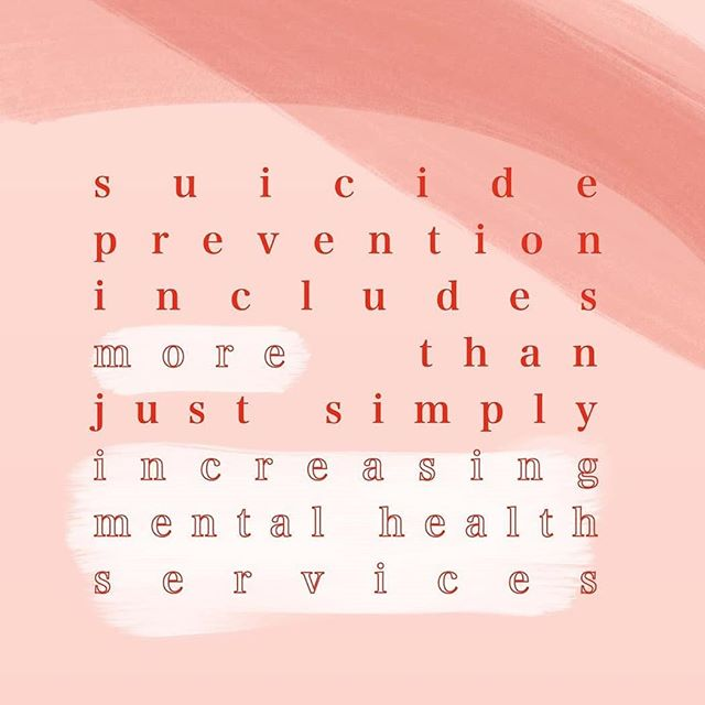 """It's World Suicide Prevention Day. Increasing mental health services is, of course, one step forward in preventing suicide but it is not the only step. As a society we need to work to consciously alleviate the stigma of mental illness. Men don't need to """"just man up"""", women don't need to """"stop being so dramatic"""". Until we start validating people and their experiences there will always be an imminent problem with suicide, regardless of gender, race, socio-economic standing, age or career. Know the signs that could suggest a loved one (or even just someone you know) may be contemplating suicide. Visit pieta.ie,  check out @pieta.house or just do some googling. Educate yourself. Be empathetic. Open your heart, open your mind, open your mouth; end the stigma. . . . . #worldsuicidepreventionday #worldsuicidepreventionday2019 #suicideawareness #suicideprevention #depression #anxiety #bpd #endthestigma #mentalhealth #mentalillness"""