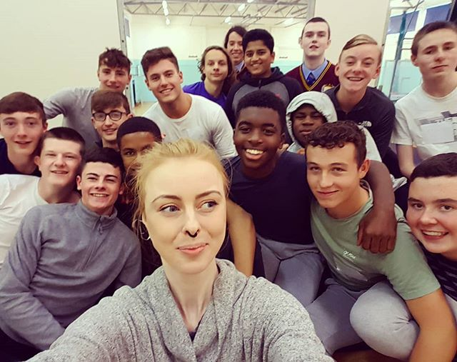 What a day, good job lads! Bunch of young gents. Day 1 at St. Declan's down, what a day 🙌 . . . #yogaretreat #mindfulness #retreat #transitionyear #yogatribe #yogateacher #yogafitness #irishfitfam #irishfitness