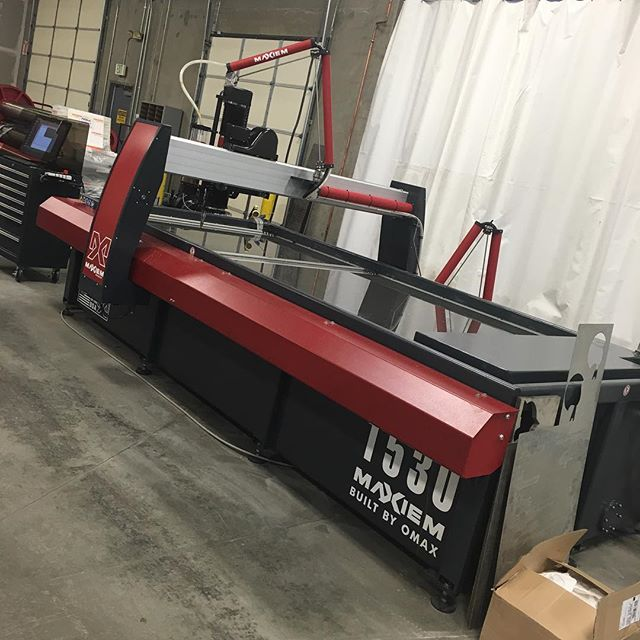 Setting goals and achieving them one day at a time . We are looking to add a water jet to our line of machines , keeping manufacturing in house and provide a water jet service to the community.