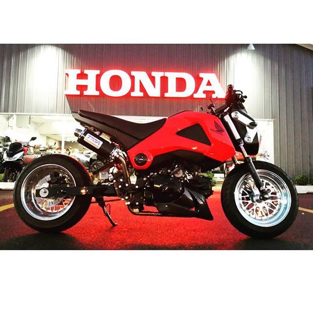 Do you drive a HONDA !!! @jxs112  Honda Grom  FLPPARTS wheel set !