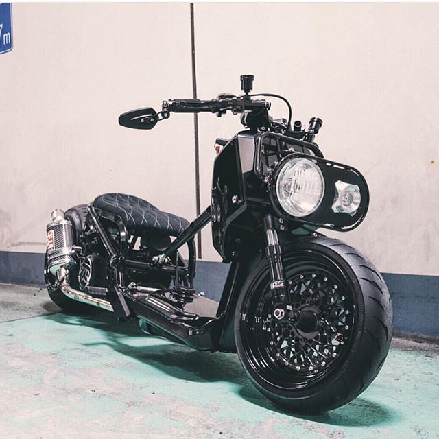 Repost @fittedlifestyle  murdered out ruckus by @tokyoparts ! Super clean build rocking some 2 piece FLPPARTS WHEELS