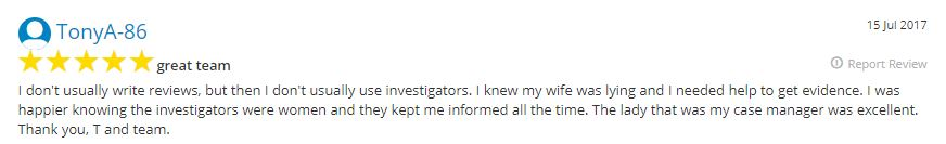 Middlesex Private Investigator Review