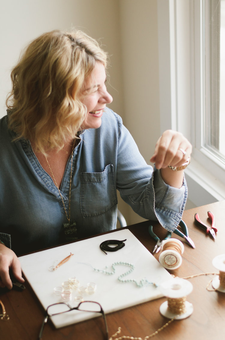 """""""bella studio is a reflection of what i love and what i love to do– expressing my style and doing meaningful work."""" - –karla furrer"""