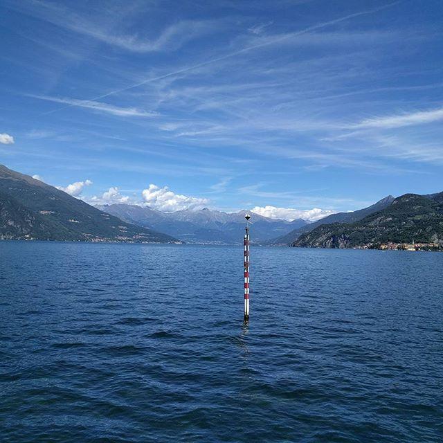 Lake Como, classic U-shaped glacial valley #science