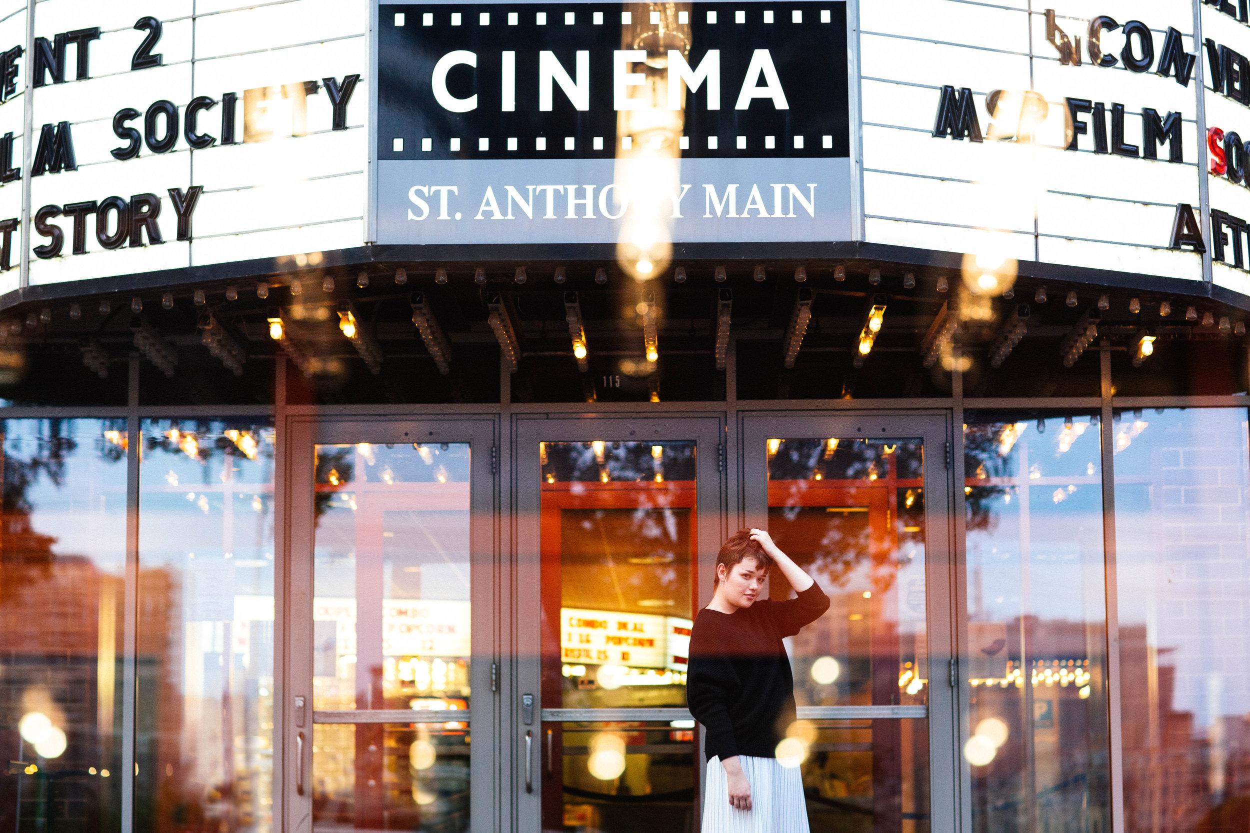Cinema Senior Photo Shoot
