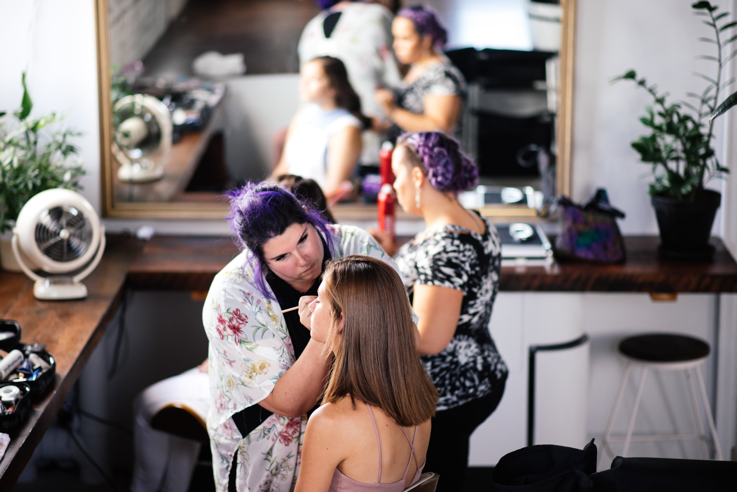 hair and makeup for high school seniors