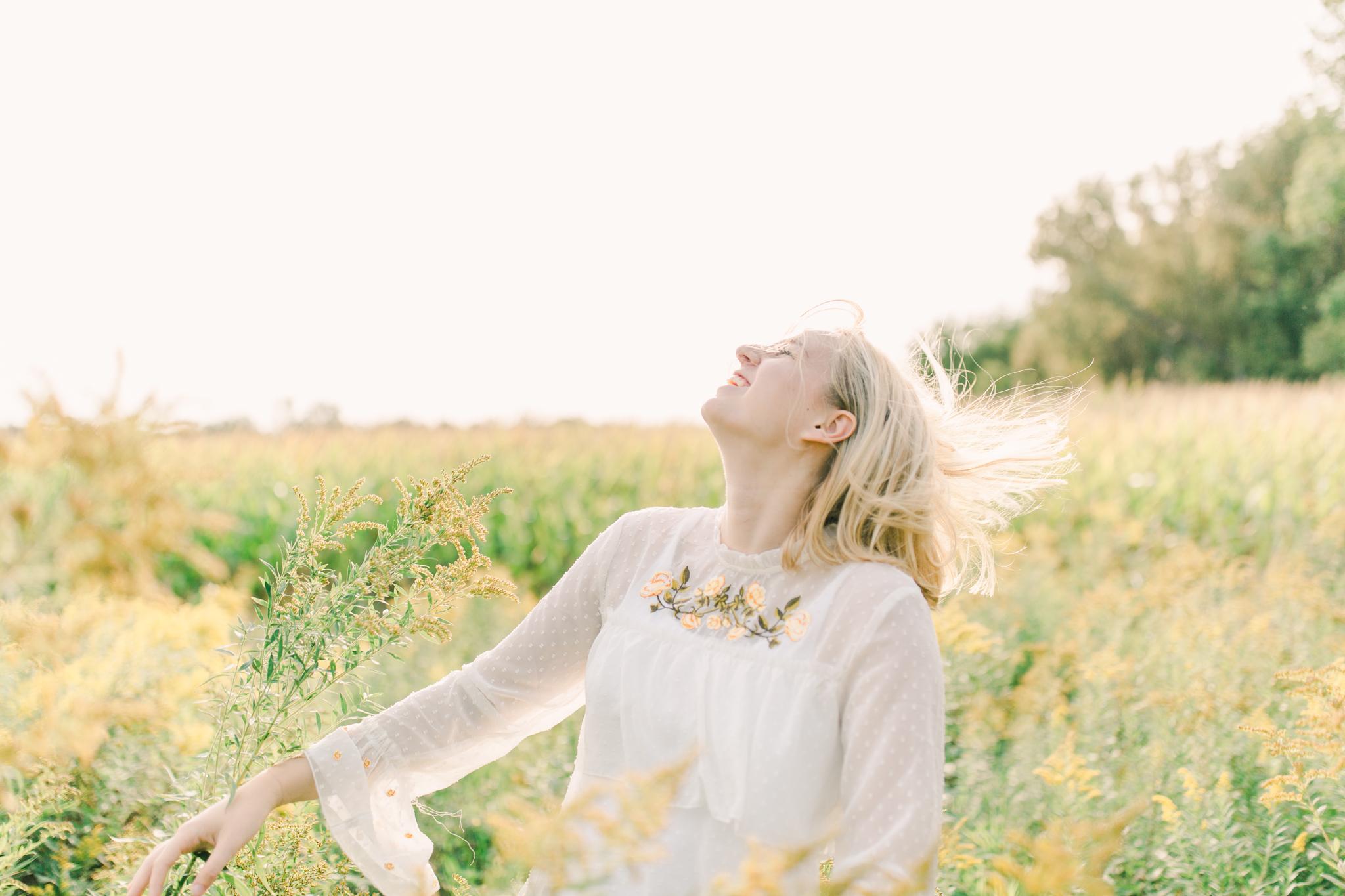 happy senior portrait cokato mn