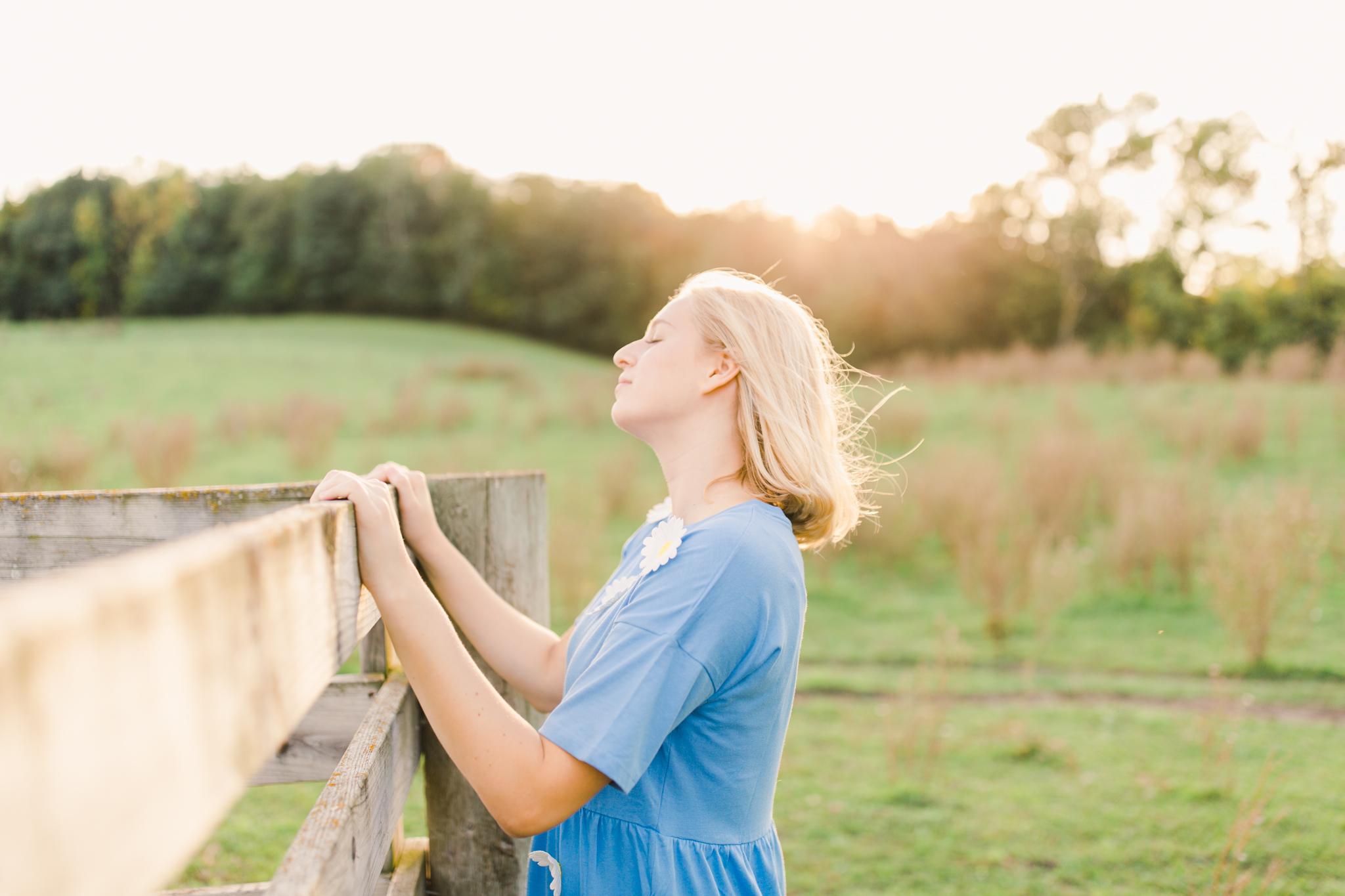 Cokato Minnesota Senior Portrait Shoot