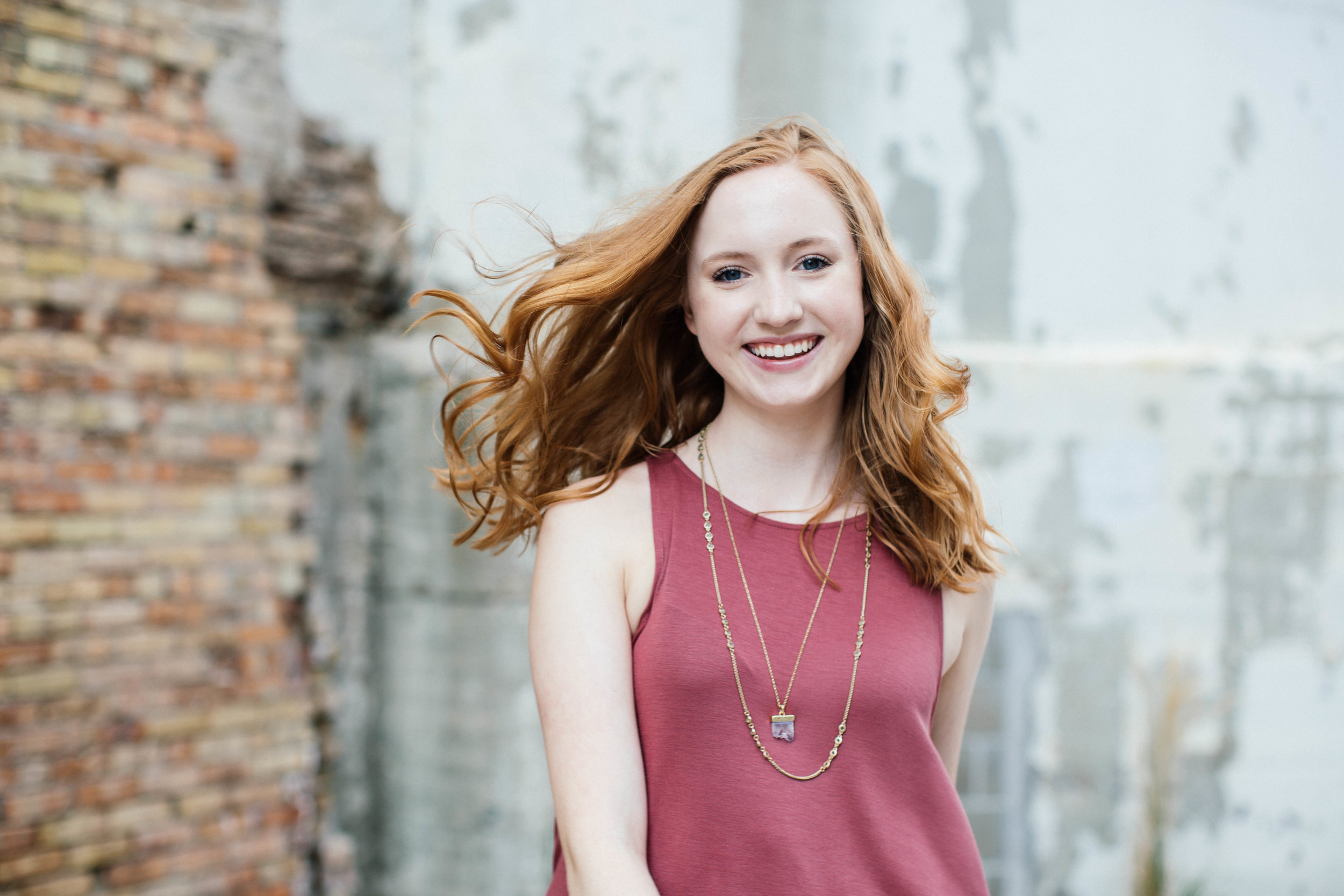 Downtown Minneapolis Senior Portrait Session