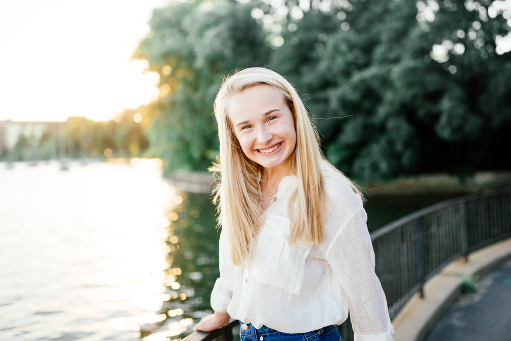 white bear lake high school senior photography