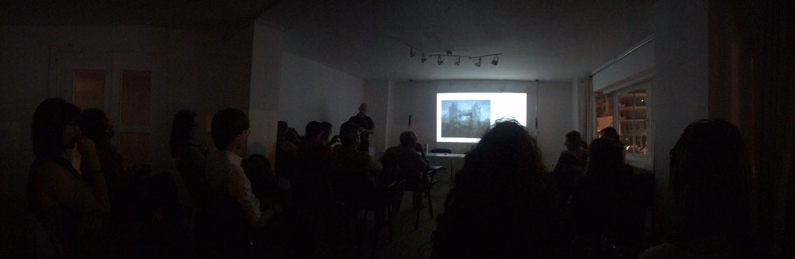 L'Investigazione della Realtà attraverso l'Immagine  at Scuola Stabile di Fotografia in Palermo, 29 September 2018, (Image courtesy of Stefania Del Monte)