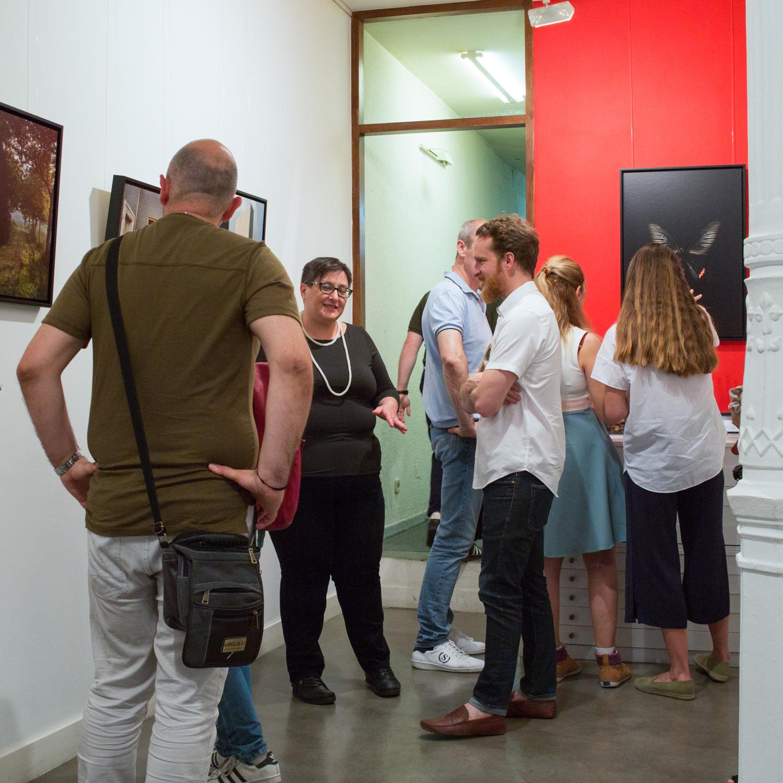 exhibition opening JR Madrid  (1 of 13).jpg