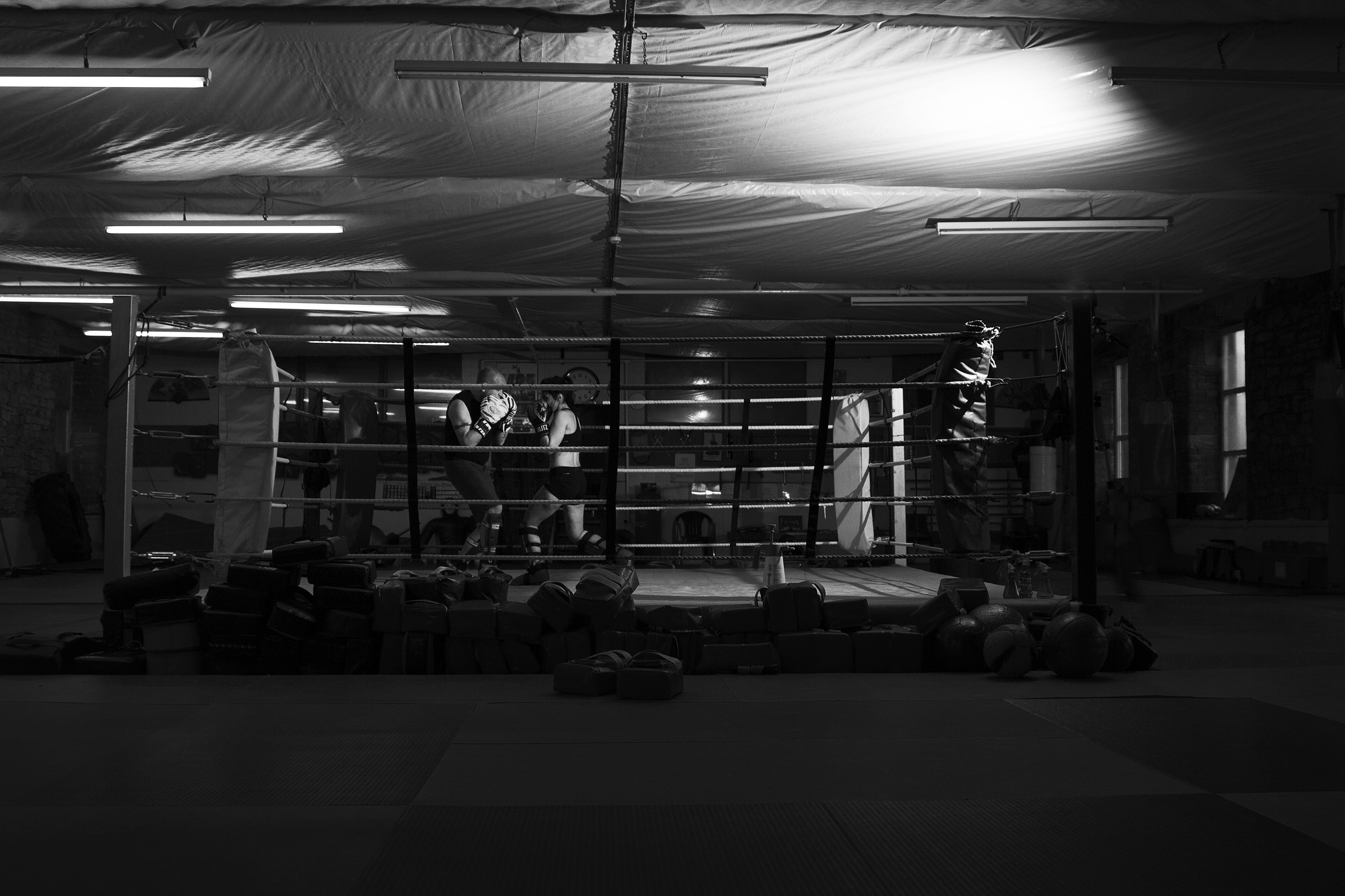 Dojo Kickboxing Ring