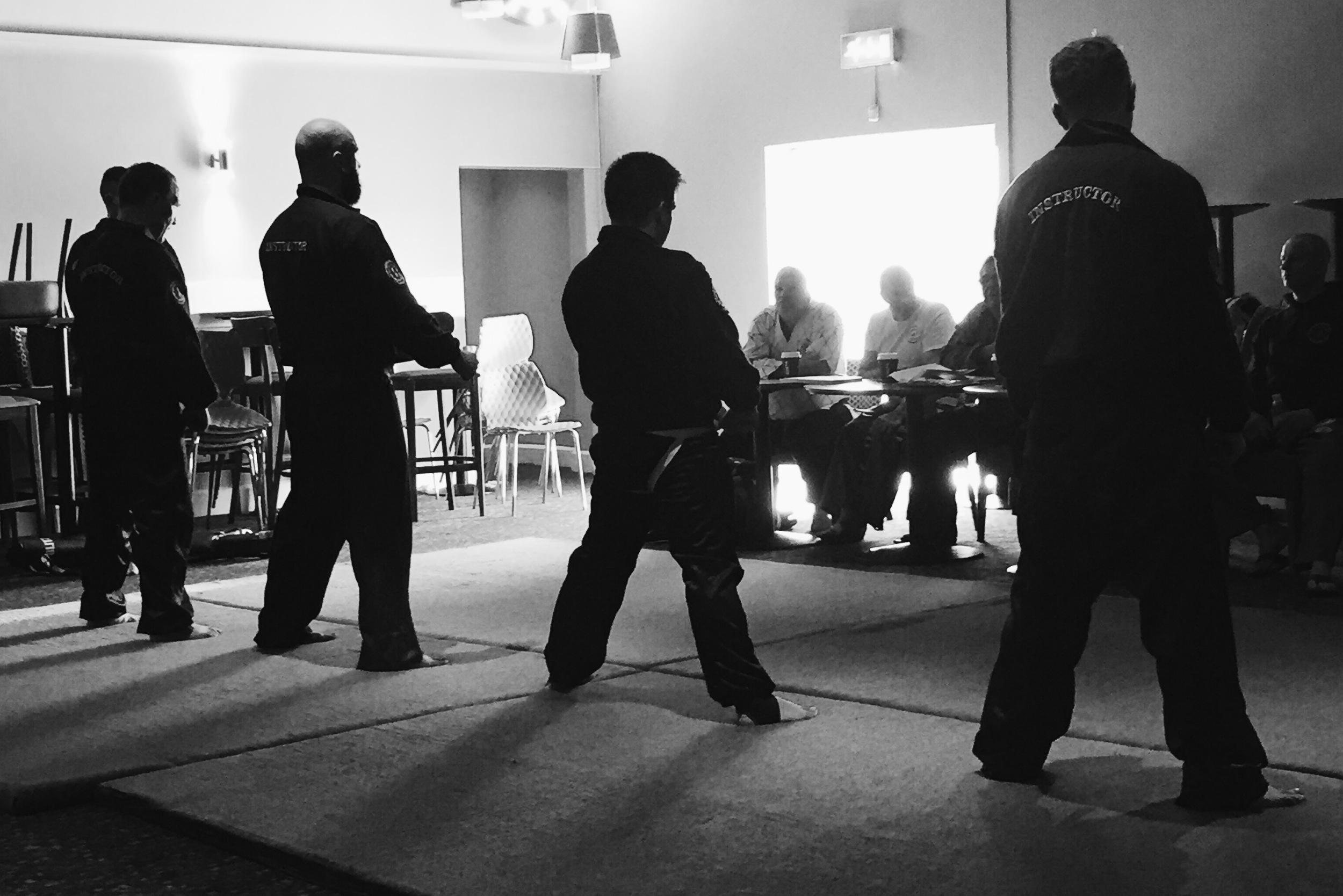 Martial Arts Wing Chun Demo