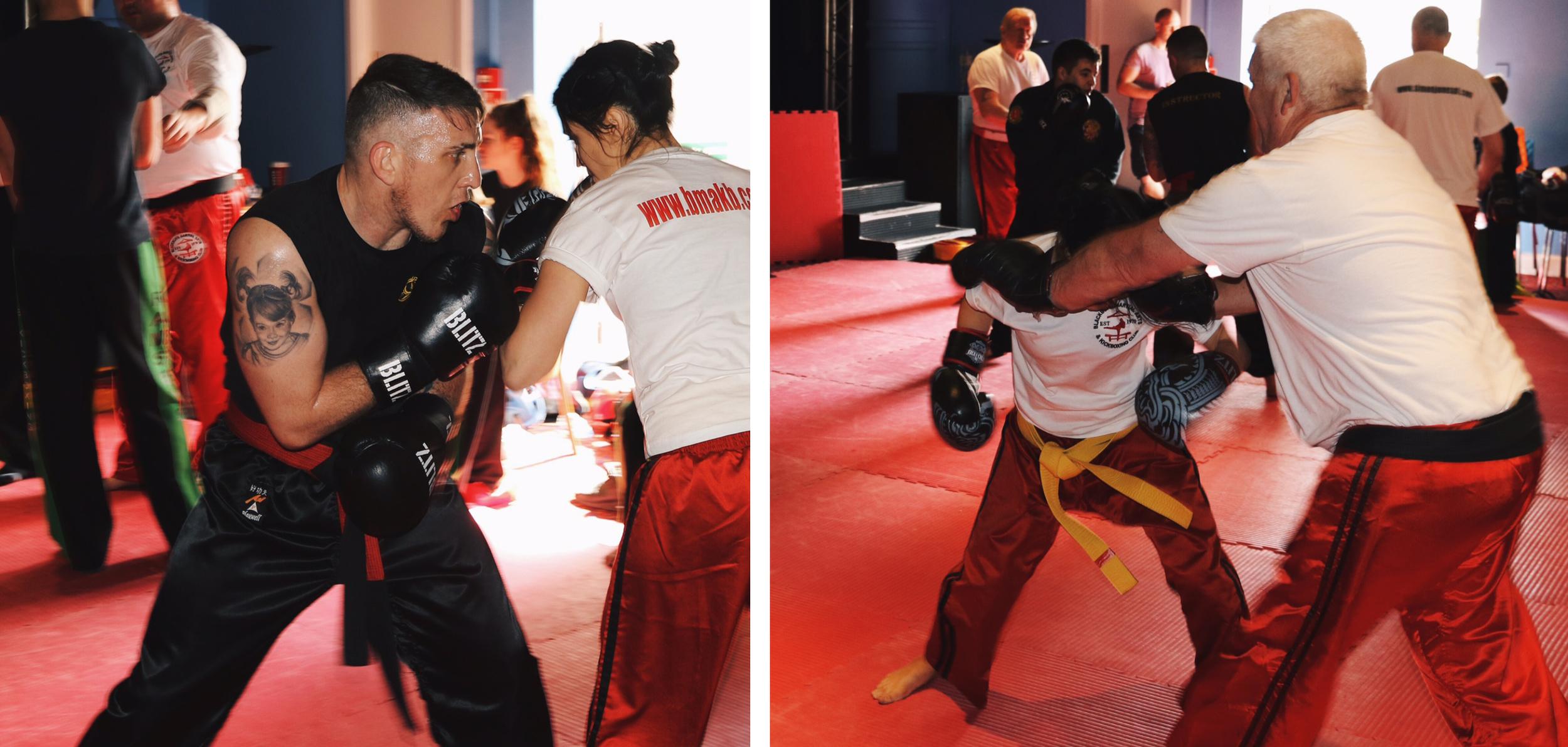 Kickboxing Sparring