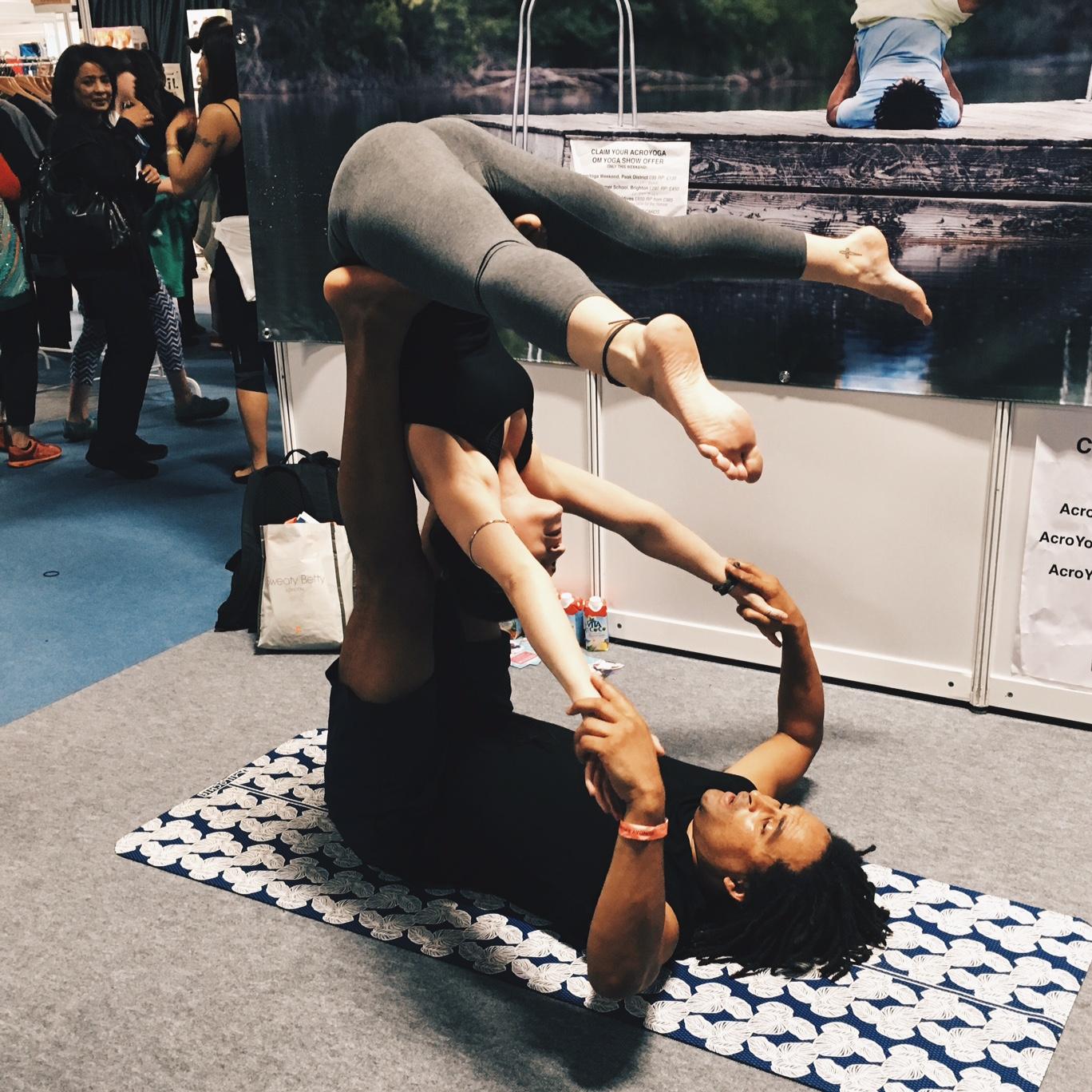 Acro Yoga Demo