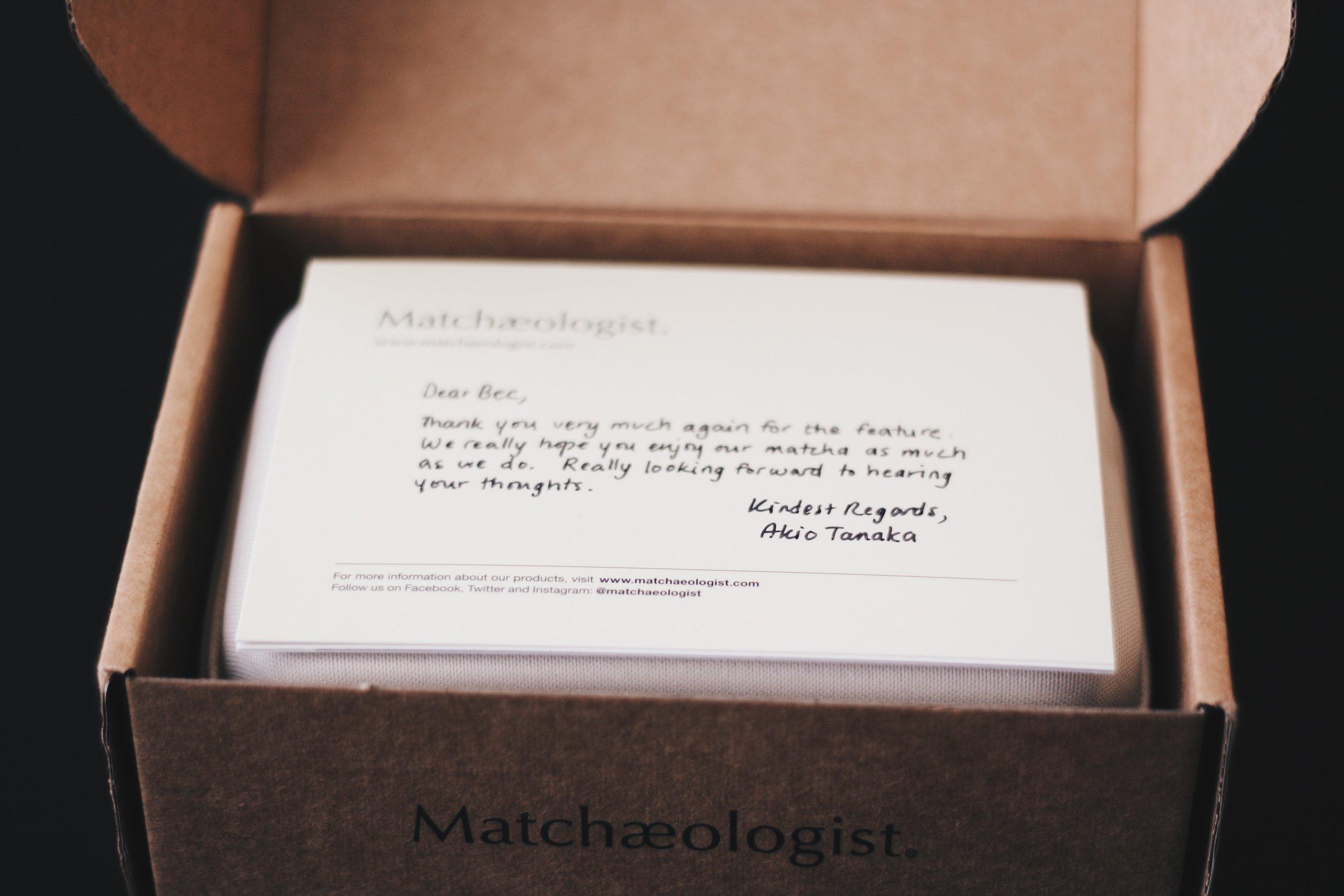 Matchaeologist