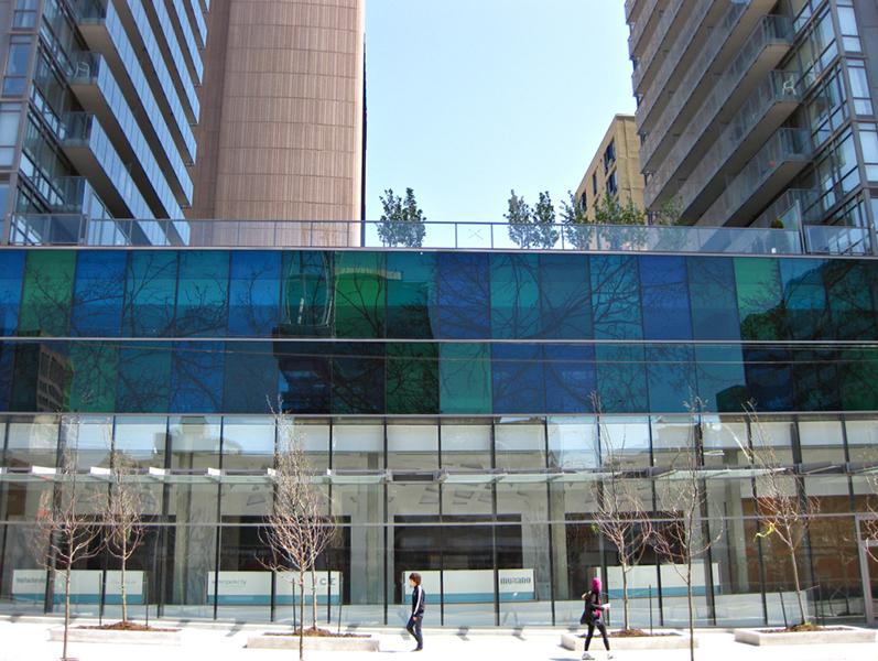 The Murano Development, Bay St., Toronto,Photo by Barbara Astman