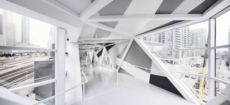 Marman & Borins in collaboration with James Khamsi,  SFC Bridge  , 2015. Photo by Andrew Rowat