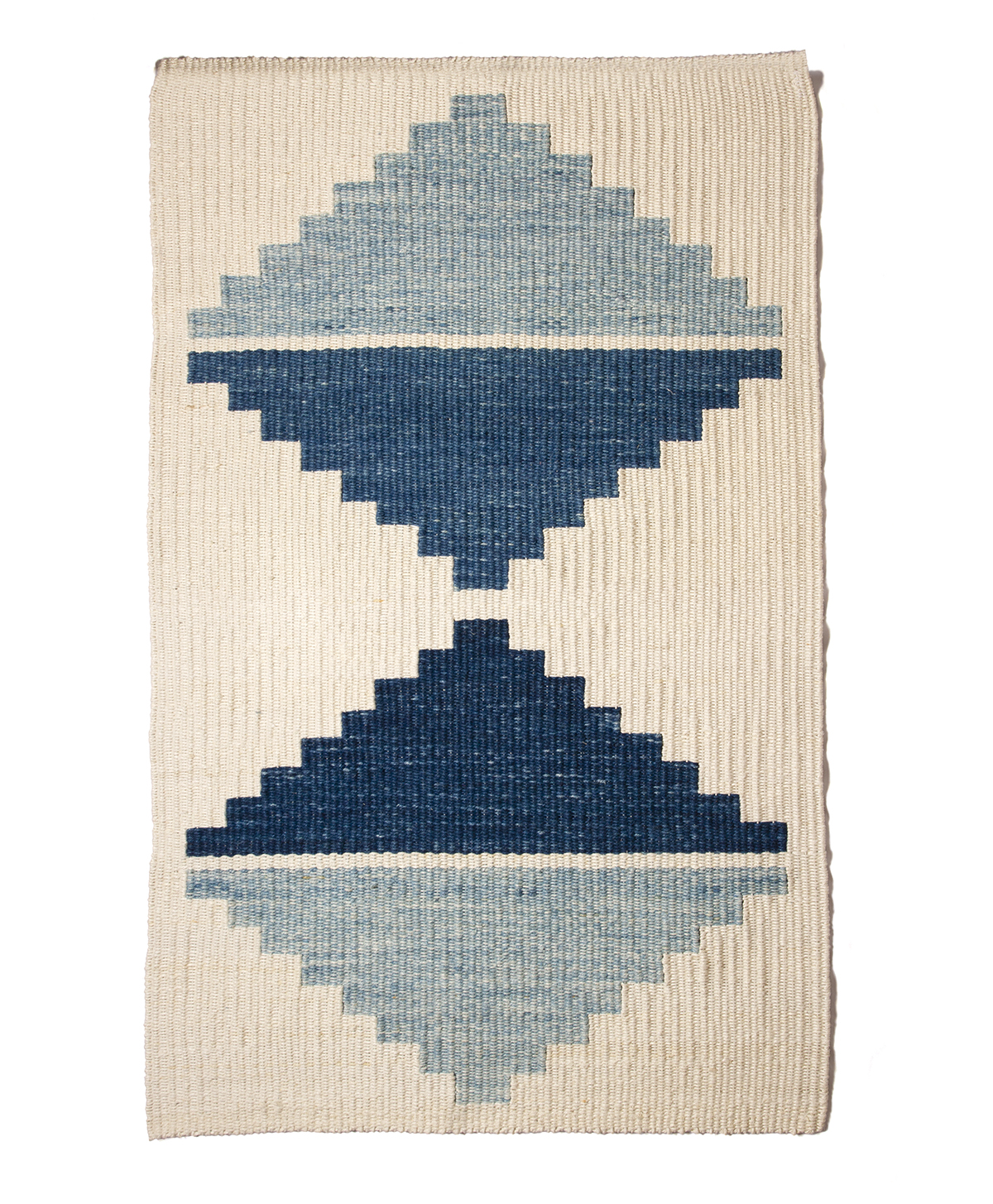 "48"" x 72"" / hemp wall hanging - indigo / 2019"